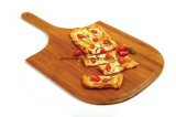 Placa de estaca da pizza/ferramenta de bambu da cozinha