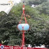 Nylonseil-handgemachtes kleines keramisches Potenziometer-Halter Garder Geschenk-Hilfsmittel