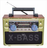 FM/AM/SW 3 полосы портативный радиоприемник с USB/TF/АККУМУЛЯТОР/Bluetooth динамик
