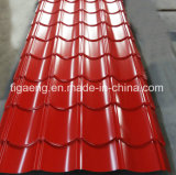 настилать крышу Galzed PPGI плитки крыши металла шага 0.45/0.5/0.6mm популярный в Европ