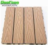 WPC DIYのボードのDeckingのタイルの木製のプラスチック合成の (WPC)Deckingか床タイル