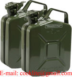 ООН-Zulassung Mit Kraftstoff Benzin тепловозная Kanister Aus Metall запаса перехода/может