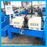 PLC를 가진 두 배 헤드 Df AC/50 자동적인 모서리를 깎아내는 기계