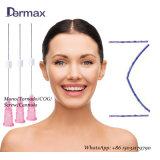 Linha farpada de Pdo da roda denteada de Mesotherapy do Anti-Enrugamento com agulha