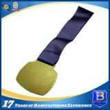 Medaglia su ordinazione di sport di esecuzione di maratona del metallo con smalto molle
