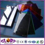 Het plastic Hardcoated Zilveren AcrylBlad van de pmma- Spiegel