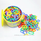 Geometrische Kettenlink-Plastikausbildung, die Spielzeug erlernt