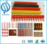 Cerca de segurança plástica alaranjada/engranzamento barreira de advertência