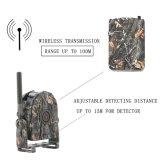 Kit senza fili dell'allarme di caccia & di obbligazione di 360 gradi con l'intervallo di rilevazione di movimento a 100 tester