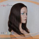 Cabelo brasileiro nenhuma peruca da franja (PPG-l-01055)