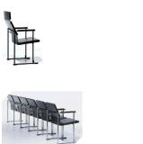 Cadeira ergonómica do escritório do braço à moda