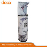 Plancher Affichage cosmétiques stand stand en carton Affichage Pop