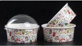 Tazas disponibles del embalaje del tazón de fuente del embalaje del helado con la tapa