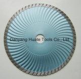 La coupe du segment circulaire de diamant de la lame de scie