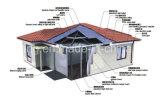 Umweltschutz Prebuilt/fabrizierte Haus für Schlafsaal der Arbeitskraft vor