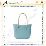 Abitudine del sacchetto di EVA delle donne di colore della caramella con la maniglia della canapa ed il sacchetto interno