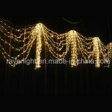 Indicatore luminoso esterno di festa di natale dell'indicatore luminoso della tenda della decorazione del LED