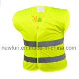 Maglia riflettente del rivestimento del Ce En1150 della maglia riflettente di sicurezza per i bambini