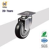 75mm PU chaise de bureau Meubles Castor roue de moulin à vent roulettes Roulette Roulette chaise blanche