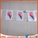 Della fabbrica stringa triangolare della bandiera nazionale di stampa di Digitahi direttamente