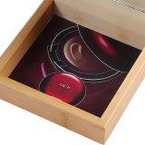 미러를 가진 도매 간단한 유행 나무로 되는 장식용 상자