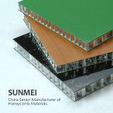 Comitato di alluminio del favo per la Camera espansibile di lusso del container, rivestimento, tenda della parete