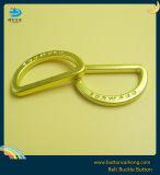 衣服のアクセサリの金カラーの頑丈な金属のDリング