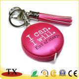 Leer Tapeline Keychain en de Band van het Leer van de Hulpmiddelen van de Hand met Leeswijzers