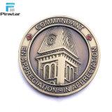 Fábrica Pinstar haciendo souvenirs personalizados de alta calidad de la moneda de chocolate