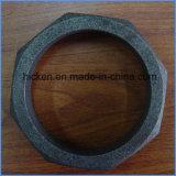 鉄の金属の砂型で作る部品