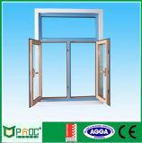 Thermischer Bruch-Aluminiumflügelfenster-Schwingen-Ausstellfenster