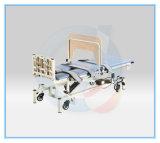 Elektrisches manuelles vertikales aufrechtes Bett-medizinisches Neigung-Tisch-Physiotherapie-Bett für das Gehen