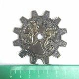 Gang-Form-Antike, die Militär-Herausforderungs-Münze überzieht