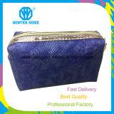 De nieuwe Zak Van uitstekende kwaliteit van de Textuur Pu van de Slang van de Aankomst Waterdichte Kosmetische