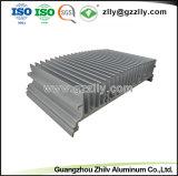 Espulsione di alluminio di Anodinized della fabbrica di iso 9001 per il radiatore del LED