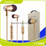 auricular atado con alambre 3.5m m con el auricular del auricular de la alta calidad