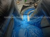 Glissière gonflable personnalisée personnalisée à l'usine, glissière gonflable la plus vendue avec carton