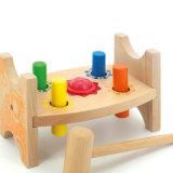 Het houten Muzikale Stuk speelgoed van de Hamer van de Bank van de Bal van de Baby Onderwijs Verpletterende voor Kinderen
