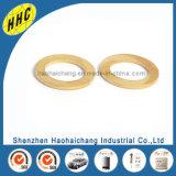 Arandela de bloqueo de cobre amarillo eléctrica de perforación modificada para requisitos particulares del metal