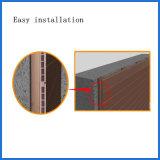 쉬운 Installtion 옥외 목제 플라스틱 합성물 WPC 벽 클래딩 위원회 21*169mm