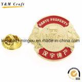 precio de fábrica insignia de solapa de esmalte de los fabricantes de metal personalizados de forma de estrella Insignia Insignia de solapa