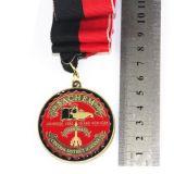 Venta caliente hecho personalizado de la medalla de metal barato al por mayor