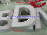 Band van het Aluminium van de Strook van het Aluminium van het Afgietsel van de uitdrijving de Gescherpte voor de Reclame van de Brief van het Kanaal