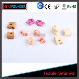 Gelbliches hohes Tonerde-Textilkeramische Haken