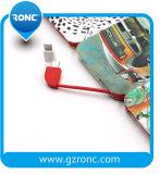 Bulit en câble chargeant du côté 5000 heure-milliampère de pouvoir de 3 ports USB
