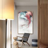 2017カスタマイズされたHDの装飾的で抽象的な油絵の壁映像/芸術映像