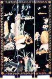 검은 꽃 스크린(A11-3252)