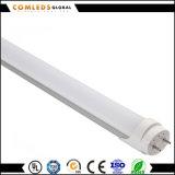 tubo de cristal de 23W 85-265V el 1.5m PF>0.9 T8 LED