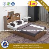 공간 절약 Foldable 꿀 색깔 저장 침대 (HX-8NR0847)