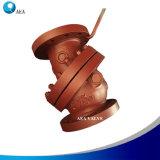 Válvula de verificação do bocal do fluxo axial do silêncio